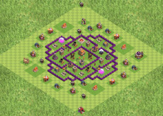 Clash of Clans расстановка базы кубки ТХ7 - TH7