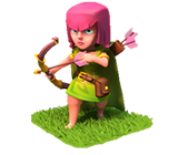 Лучница Clash of Clans (Archer)