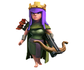 Королева Лучниц Clash of Clans (Archer Queen)