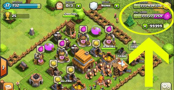 Clash of Clans читы, hack, взлом